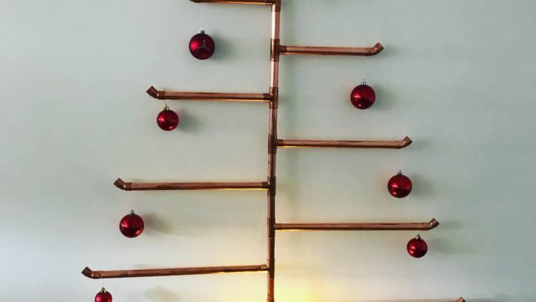 Julgran av koppar